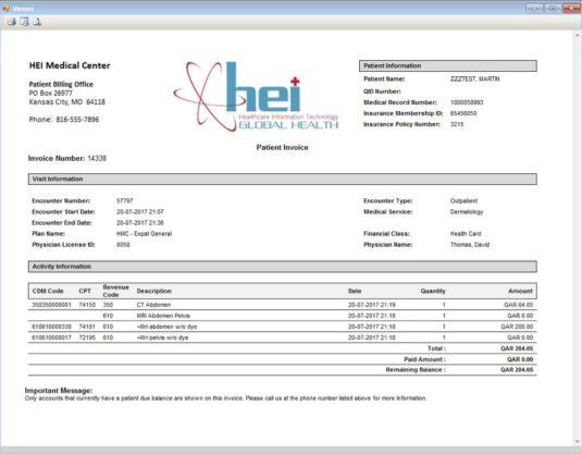 Generating Invoices